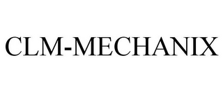 mark for CLM-MECHANIX, trademark #85046355