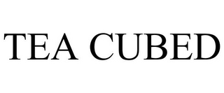 mark for TEA CUBED, trademark #85046399