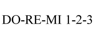 mark for DO-RE-MI 1-2-3, trademark #85046773
