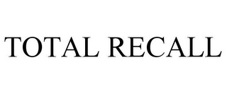 mark for TOTAL RECALL, trademark #85048664