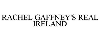 mark for RACHEL GAFFNEY'S REAL IRELAND, trademark #85049500