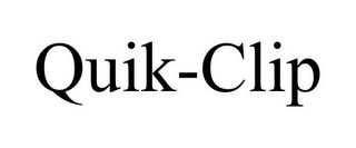 mark for QUIK-CLIP, trademark #85051131