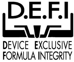 mark for D.E.F.I DEVICE EXCLUSIVE FORMULA INTEGRITY, trademark #85051705