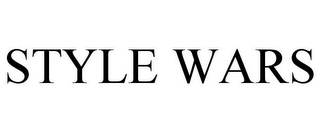 mark for STYLE WARS, trademark #85052061