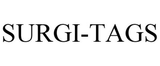 mark for SURGI-TAGS, trademark #85052185