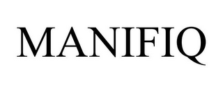 mark for MANIFIQ, trademark #85052379