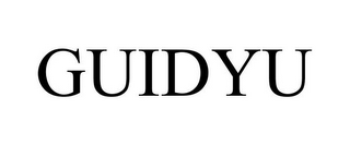 mark for GUIDYU, trademark #85052422