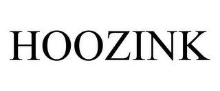 mark for HOOZINK, trademark #85052950