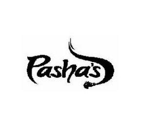 mark for PASHA'S, trademark #85053428