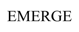 mark for EMERGE, trademark #85053790