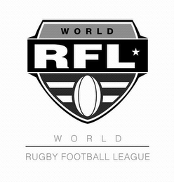mark for WORLD RFL WORLD RUGBY FOOTBALL LEAGUE, trademark #85053794