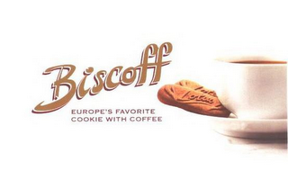 mark for BISCOFF EUROPE'S FAVORITE COOKIE WITH COFFEE LOTUS, trademark #85053901