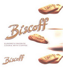 mark for BISCOFF BISCOFF EUROPE'S FAVORITE COOKIE WITH COFFEE LOTUS LOTUS LOTUS, trademark #85053930