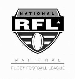 mark for NATIONAL RFL NATIONAL RUGBY FOOTBALL LEAGUE, trademark #85054078
