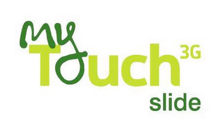mark for MYTOUCH 3G SLIDE, trademark #85055421