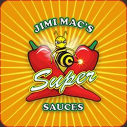 mark for JIMI MAC'S SUPER SAUCES, trademark #85055732