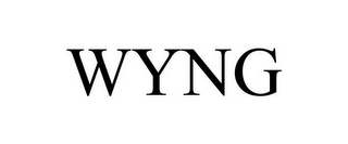 mark for WYNG, trademark #85056476