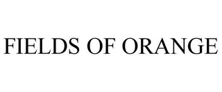 mark for FIELDS OF ORANGE, trademark #85056866