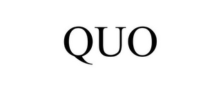 mark for QUO, trademark #85058302