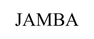 mark for JAMBA, trademark #85058672