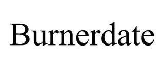 mark for BURNERDATE, trademark #85060887