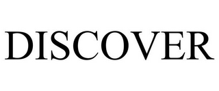 mark for DISCOVER, trademark #85061824