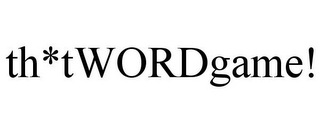 mark for TH*TWORDGAME!, trademark #85061933