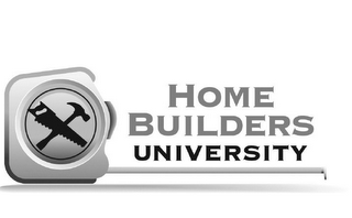 mark for HOME BUILDERS UNIVERSITY, trademark #85063068