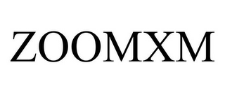 mark for ZOOMXM, trademark #85063232