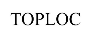 mark for TOPLOC, trademark #85063944