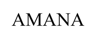 mark for AMANA, trademark #85064190
