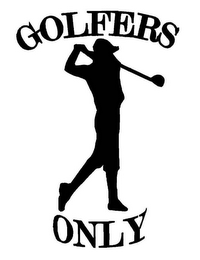 mark for GOLFERS ONLY, trademark #85065124