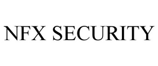 mark for NFX SECURITY, trademark #85066048