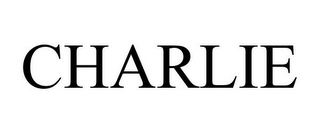 mark for CHARLIE, trademark #85066245