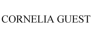 mark for CORNELIA GUEST, trademark #85068484