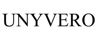 mark for UNYVERO, trademark #85068577