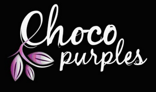 mark for CHOCO PURPLES, trademark #85069091
