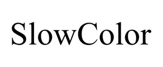 mark for SLOWCOLOR, trademark #85069244