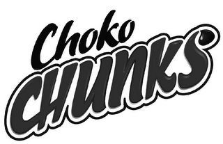 mark for CHOKO CHUNKS, trademark #85069487