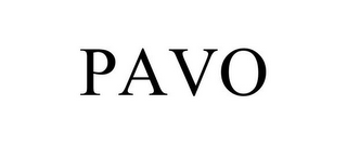 mark for PAVO, trademark #85070462