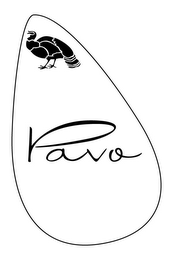 mark for PAVO, trademark #85070479