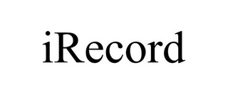 mark for IRECORD, trademark #85070600
