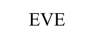 mark for EVE, trademark #85071379