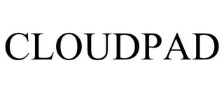 mark for CLOUDPAD, trademark #85072409