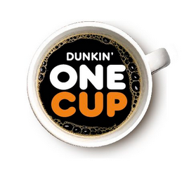 mark for DUNKIN' ONE CUP, trademark #85073586