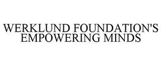 mark for WERKLUND FOUNDATION'S EMPOWERING MINDS, trademark #85074851
