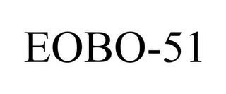 mark for EOBO-51, trademark #85075053