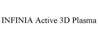 mark for INFINIA ACTIVE 3D PLASMA, trademark #85077369