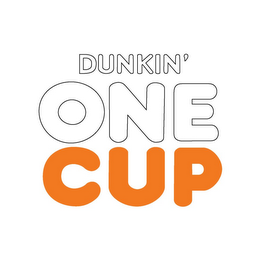 mark for DUNKIN' ONE CUP, trademark #85078499