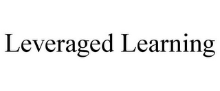 mark for LEVERAGED LEARNING, trademark #85078566